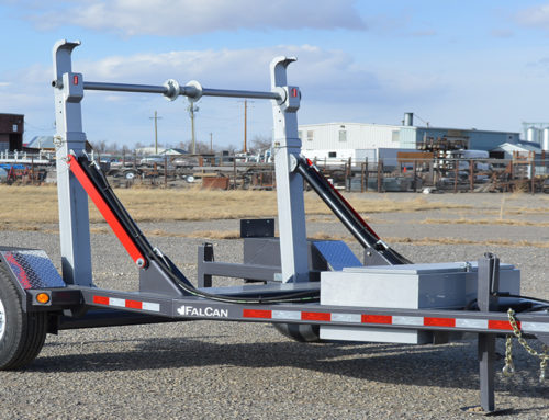 SELF LOADING REEL TRAILER